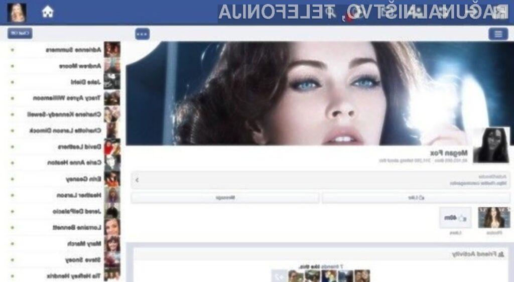 Prednosti namenske aplikacije za dostop do Facebooka bodo lahko koristili le uporabniki Oken 8.1!
