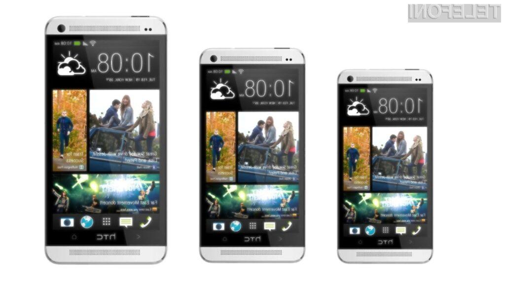 HTC One mini, HTC One in HTC One Max