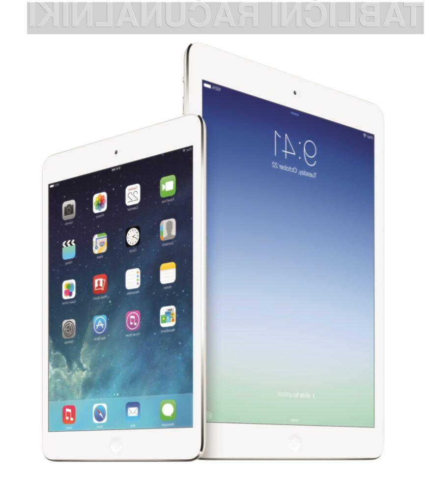 Tablična računalnika iPad Air in iPad mini sta med obiskovalci Applove konference požela veliko pohval!
