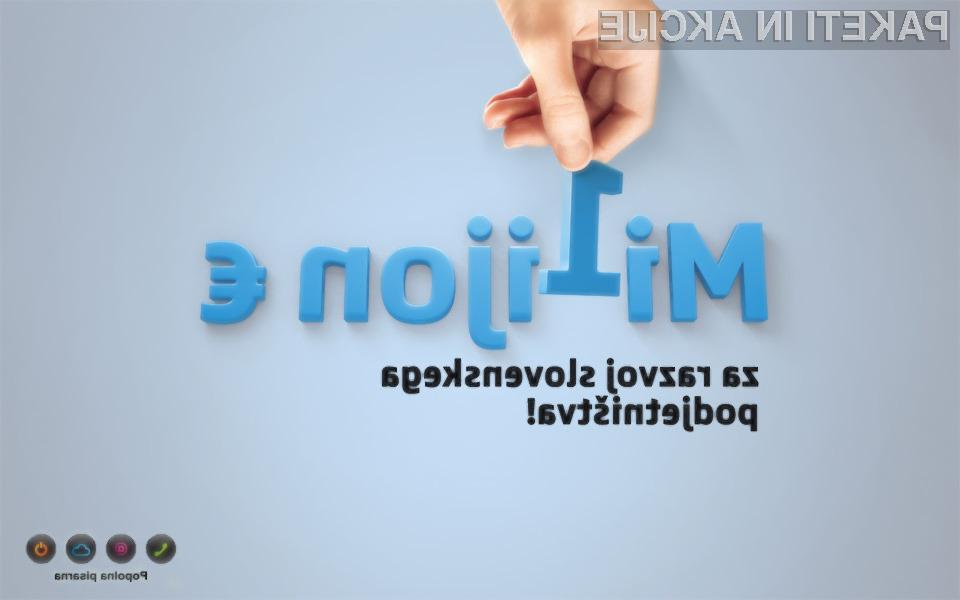 Si.mobil bo slovenskim podjetjem subvencioniral poslovne storitve.