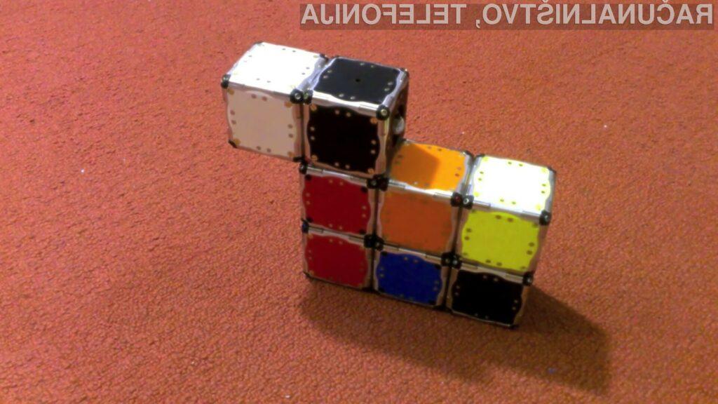 Modularne kockaste robote M-Blocks bi bilo zaradi nizkih stroškov izdelave mogoče uporabiti celo kot gradbeni material ali prilagodljivo ohišje.
