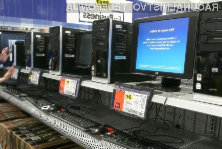 Prodaja računalnikov boljša od pričakovanj