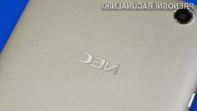 Tablični računalnik NEC LaVie Tab S je prevzel lovoriko najlažje 7-palčne tablice na modrem planetu!