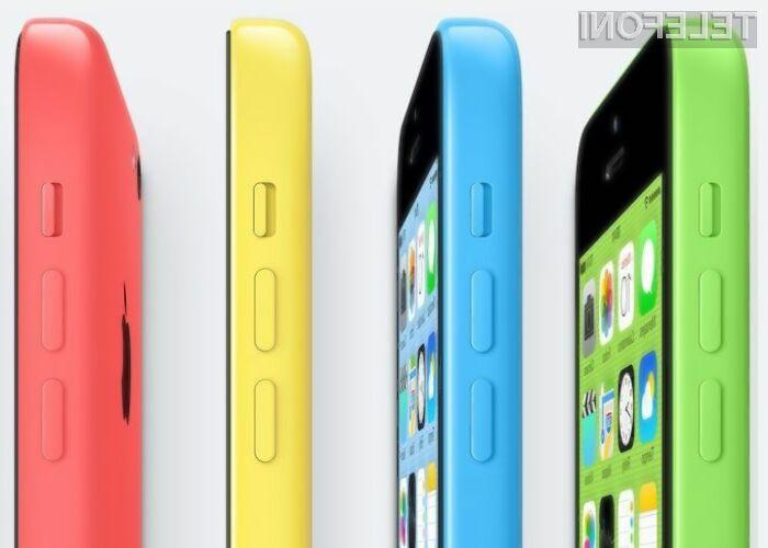 Po pametnem mobilnem telefonu iPhone 5C posegajo le še tisti, ki obožujejo žive barve njegovega plastičnega ohišja