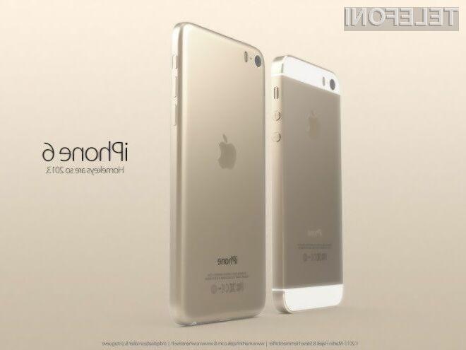 Mobilnik iPhone 6 se bo zaradi večjega in odpornejšega zaslona še lažje prikupil ljubiteljem ogrizenega jabolka.