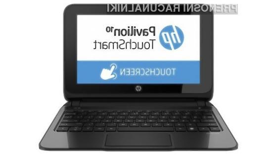 Prenosnik HP Pavilion 10 TouchSmart bo kot nalašč za deskanje po spletu in enostavnejša pisarniška opravila!