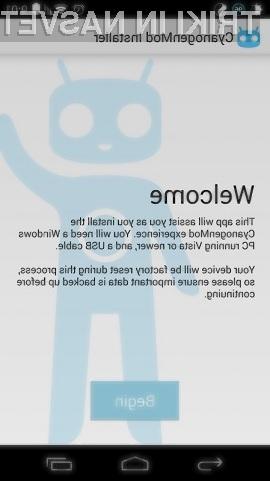 Prirejeni operacijski sistem CyanogenMod opazno pohitri mobilno napravo Android!