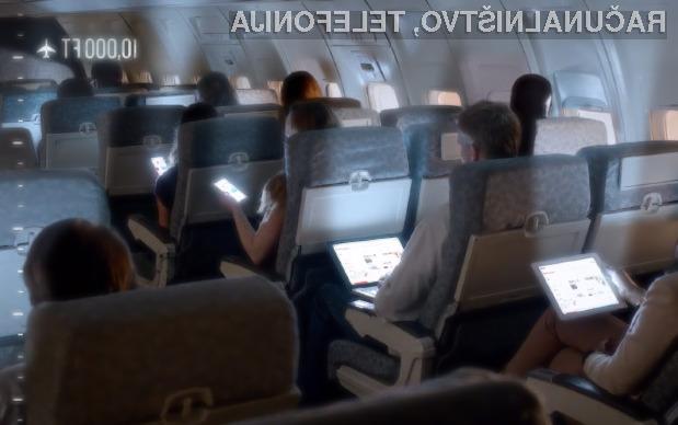 Vse evropske letalske družbe bi lahko uporabo mobilnih naprav dovolile šele proti koncu naslednjega leta.