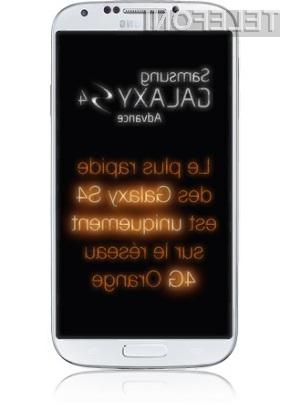 Zmogljivi Samsung Galaxy S4 Advance pristal v Evropi!