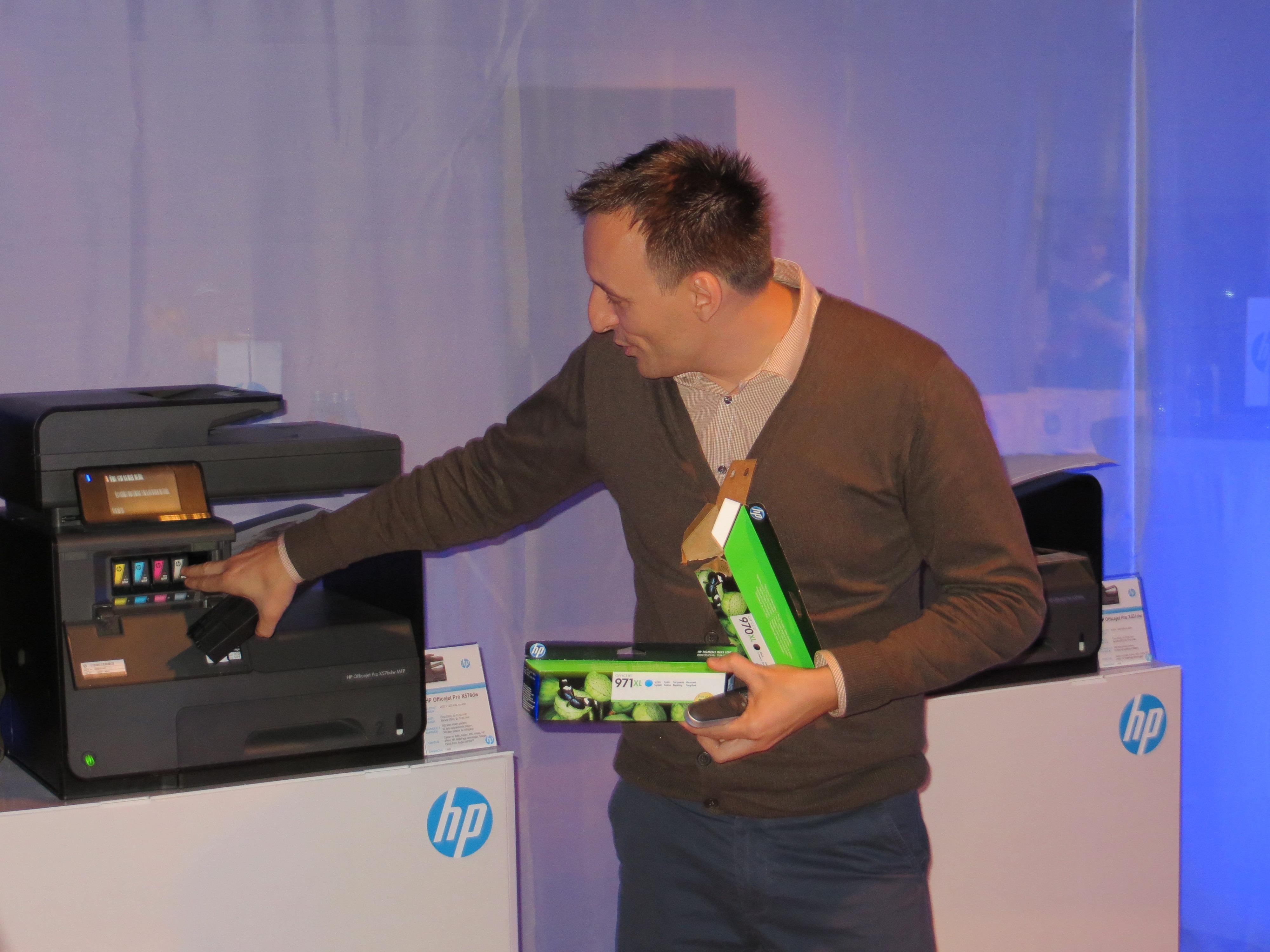 Beno Marušič, Hewlett-Packard