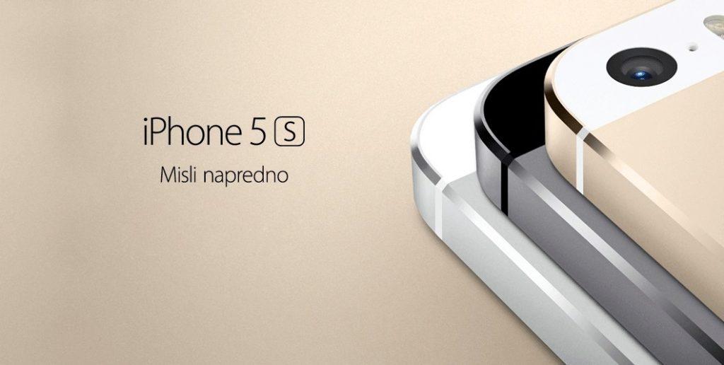 Telekom Slovenije napovedal iPhone 5s in iPhone 5c