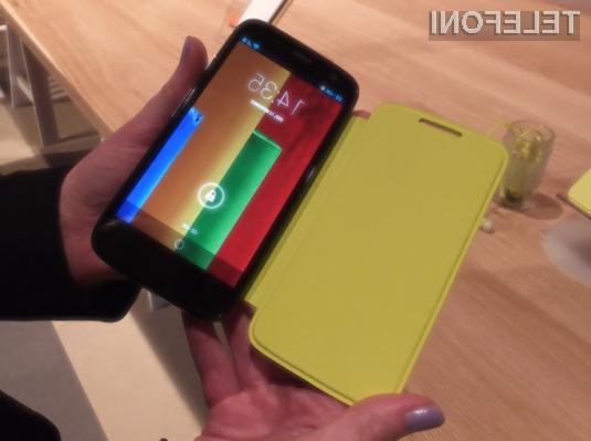 Pametni mobilni telefon Motorola Moto G je odlična izbira tudi za nekoliko zahtevnejše uporabnike!