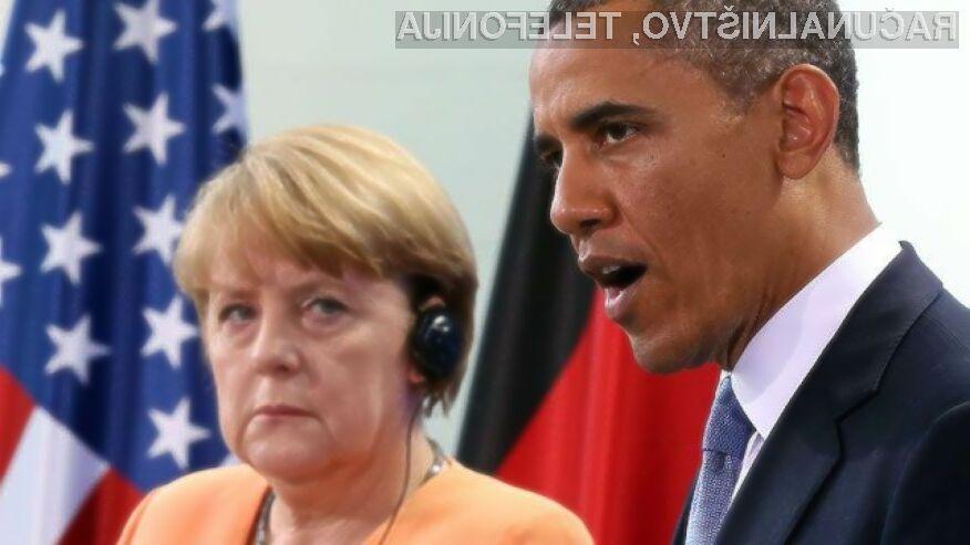 Obama je odobril vohunjenje za Merklovo – ali NSA vohuni tudi za nami?