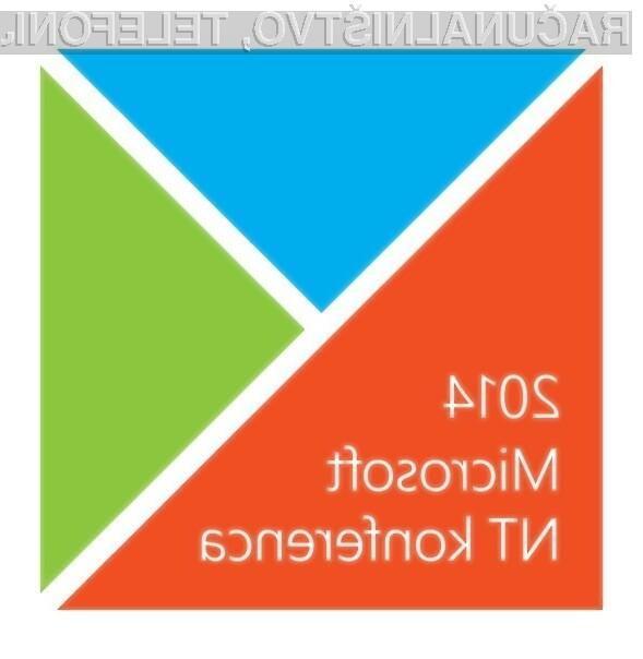 Zimski dogodek Microsoftove NT konference se bo odvil 21. januarja v Cankarjevem domu.