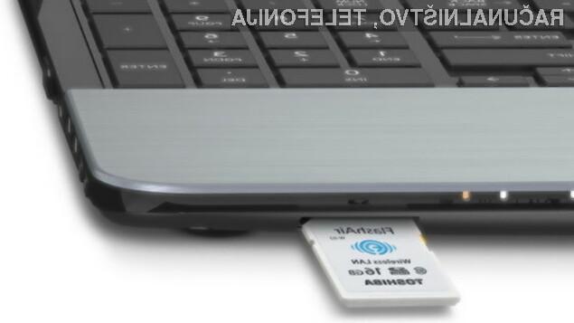 Pomnilniške kartice s povezavo Wi-Fi so kot nalašč za prenos večpredstavnostnih vsebin na mobilne naprave.