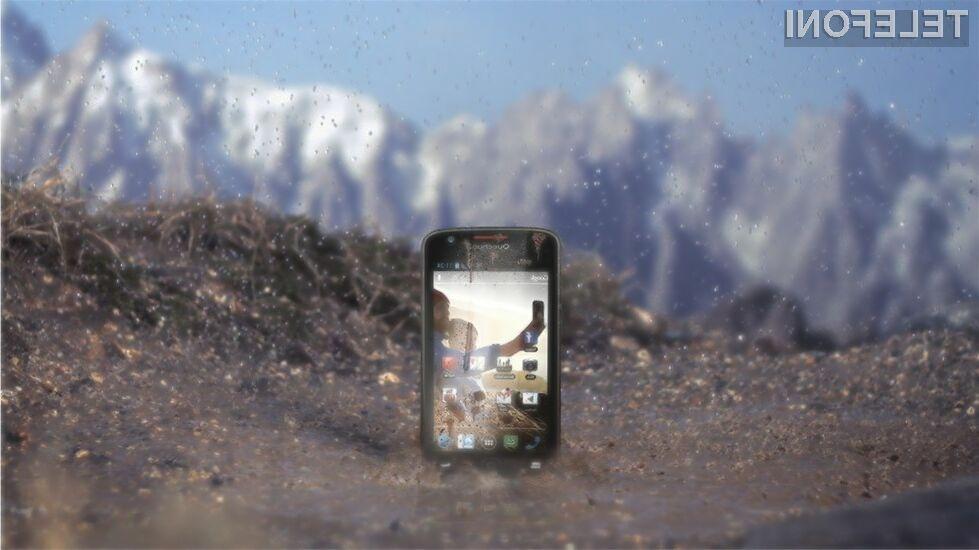 Novi pametni mobilni telefon podjetji Archos in Quechua bomo le stežka uničili!