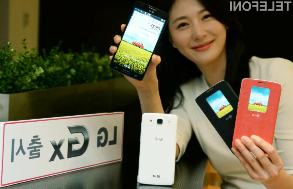 Pametni mobilni telefon LG GX je kot nalašč tako za delo kot preživljanje prostega časa!
