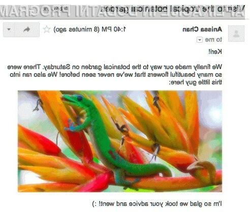 Samodejni prikaz slik v Gmailu so uporabniki sprejeli z odprtimi rokami!