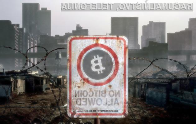 Poslovanje z elektronsko denarno valutu Bitcoin je vse prej kot varno!