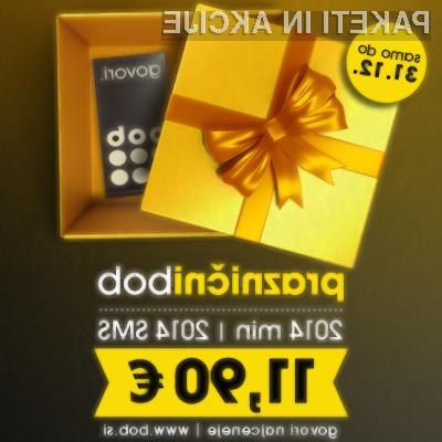 2014 minut pogovorov in 2014 SMS sporočil v vsa slovenska omrežja za samo 11,90 EUR!