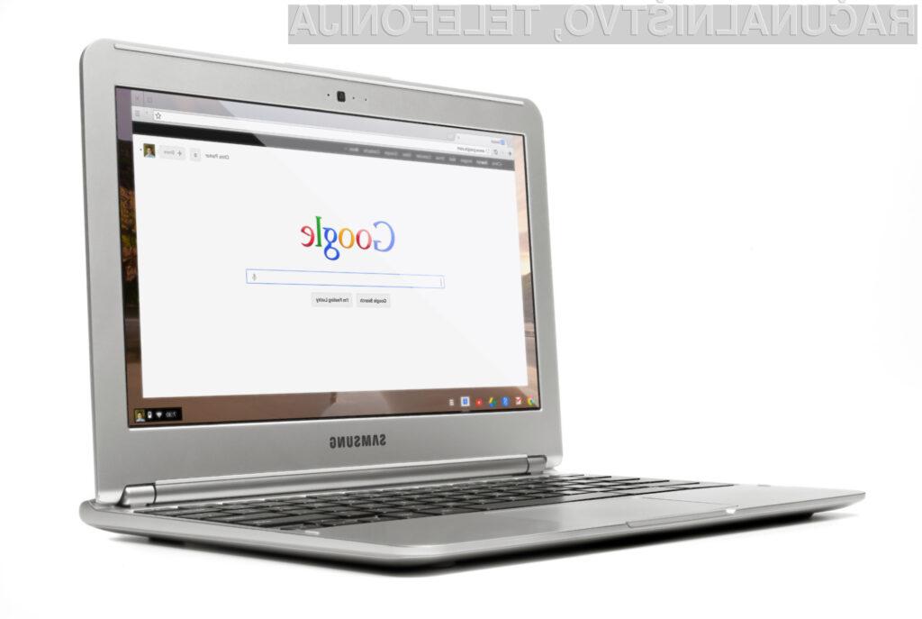 Za prenosne računalnike Chromebook se odloča vedno več uporabnikov svetovnega spleta!