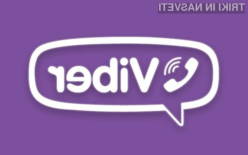 Storitev Viber Out omogoča opravljanje klicev v običajna telefonska omrežja!