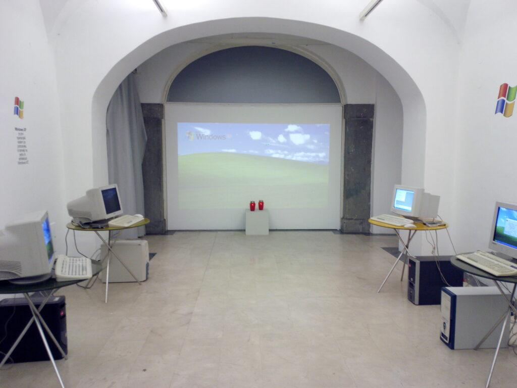 Spominska soba v čast legende, Windows XP!