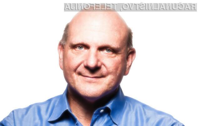 Izvršni direktor Microsofta Steve Ballmer je naznanil odstop.