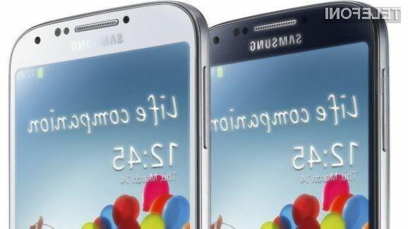 Razlika v ceni med cenejšim in dražjim mobilnikom Samsung Galaxy S5 naj bi bila okoli evrska stotaka.