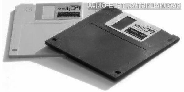 Že skoraj pozabljene 3,5-palčne diskete so še vedno stalnica pri ameriški vladi.