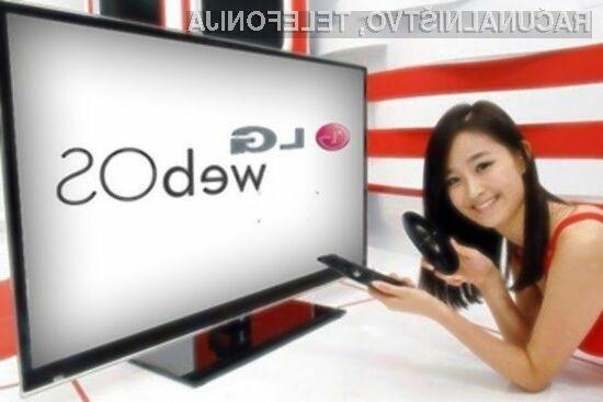Novi pametni televizorji LG naj bi uporabnikom ponujali pravo večopravilnost in napreden uporabniški vmesnik.