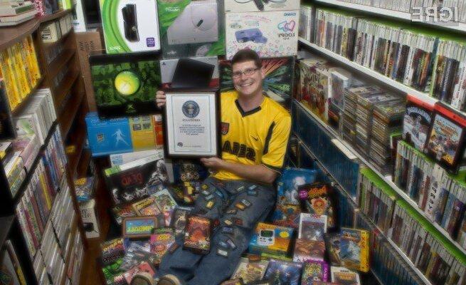 Michael Thomasson je ponosen lastnik več kot 11.000 računalniških iger!