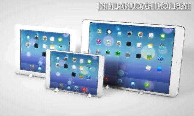 Cenejša različica Applovega tabličnega računalnika z 12,9-palčnim zaslonom naj bi bila naprodaj že aprila!