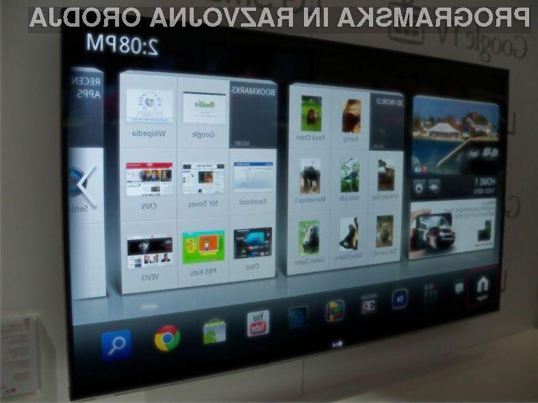 Podjetje Google vse bolj prodira tudi na področje televizije!