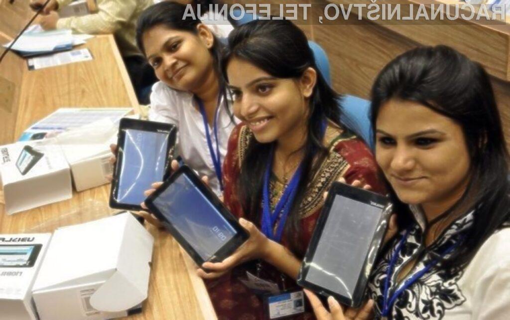 Tablični računalnik Aakash 4 bo na račun nizke cene dosegljiv tudi manj premožnejšim Indijcem.