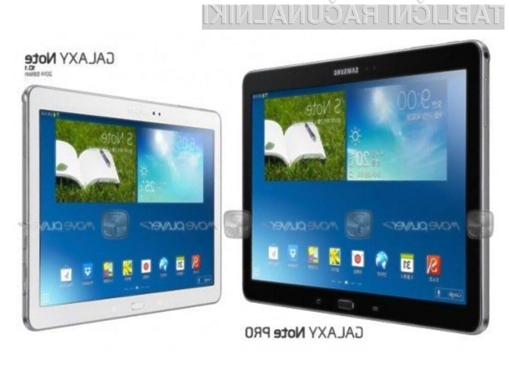 Tablični računalnik Galaxy Note Pro bo po vsej verjetnosti na voljo v dveh različicah.