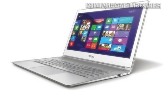 Zaslon prenosnika Acer Aspire S7-392-FT8U zagotavlja prikaz izjemno kakovostnih slik!