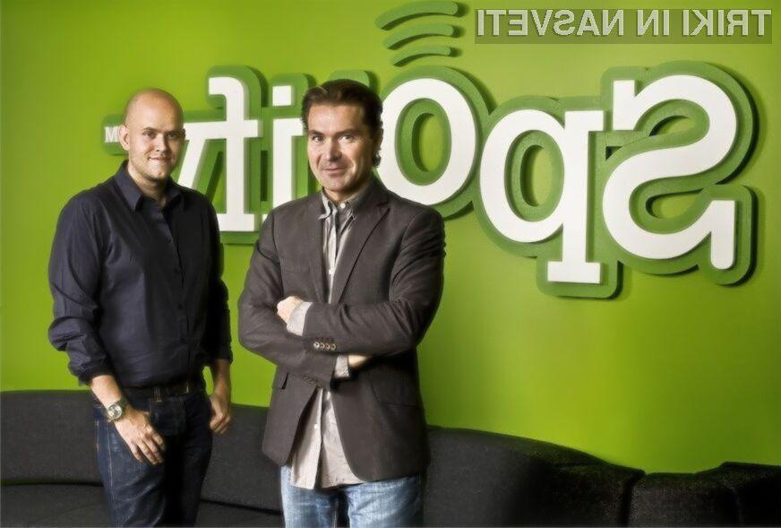 Spotify z brezplačno glasbo za mobilne naprave Android in iOS!