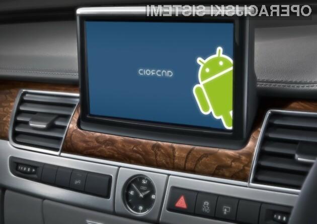 Audi bo v svoja vozila namestil Android.