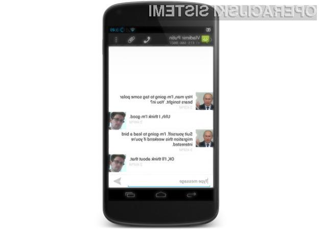 Z uporabo mobilnega operacijskega sistema CyanogenMod 10.2 bodo naša sporočila zaščitena pred vohunjenjem!