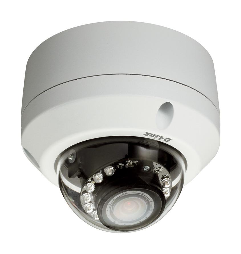 Zunanja profesionalna nadzorna IP-kamera zagotavlja posnetke vrhunske kakovosti podnevi in ponoči, v vseh svetlobnih pogojih