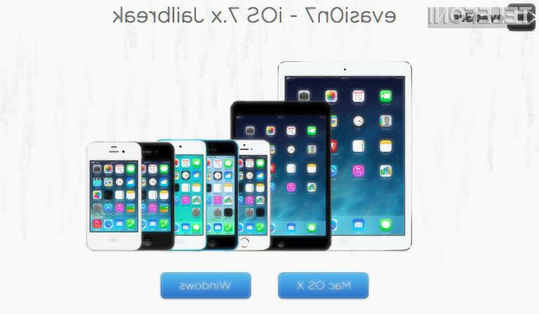 Spretni prsti članov hekerske skupine Evasi0n so zlomili napredno Applovo protipiratsko zaščito operacijskega sistema iOS 7!