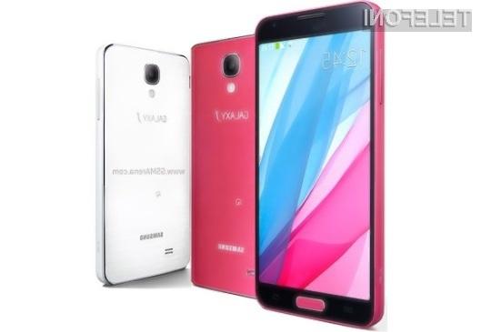 Samsung Galaxy J združuje strojno opremo mobilnika Galaxy Note 3 z elegantnim ohišjem Galaxyja S4.