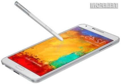 Mobilnik Samsung Galaxy Note 3 Lite bo dovolj zmogljiv tudi za najzahtevnejše uporabnike!
