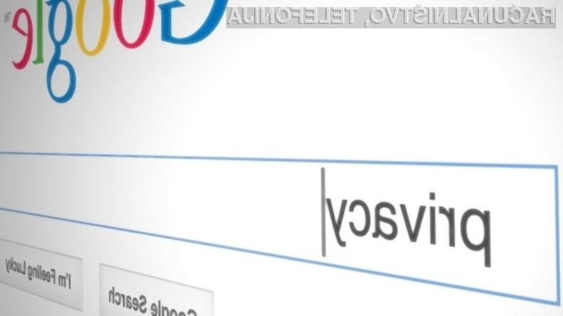 Podjetje Google bo imelo v letu 2014 precejšnje težave z evropskimi varuhi zasebnosti uporabnikov svetovnega spleta!
