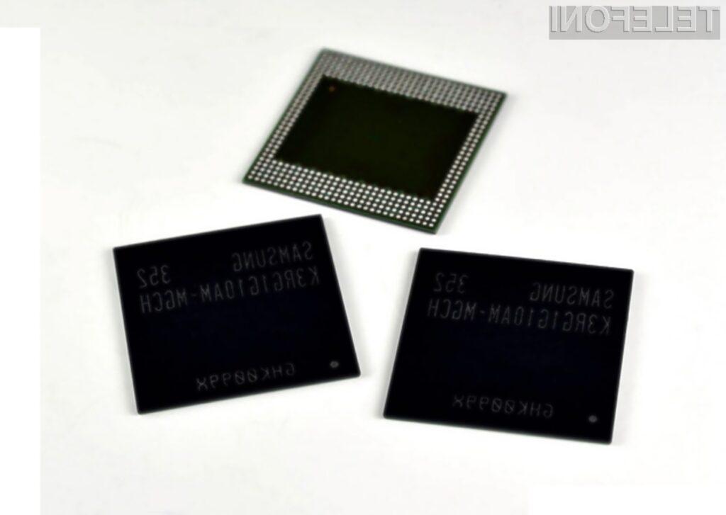 Novi pomnilnik DDR4 podjetja Samsung bo omogočil izdelavo mobilnih naprav z vsaj štirimi gigabajti sistemskega pomnilnika.