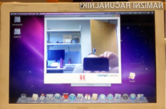 Na starejših Macih lahko hekerji prevzamejo kamero brez da to uporabnik opazi.