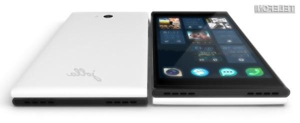 Oblikovno všečni mobilnik Jolla Phone je pisan na kožo vsem, ki želijo izstopati v množici!