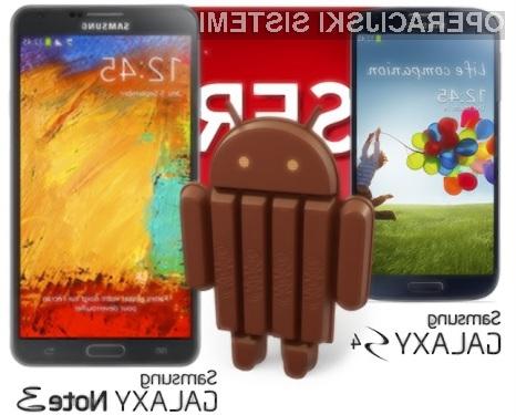 Android 4.4 KitKat se bo odlično prilegal mobilnikoma Samsung Galaxy S4 in Galaxy Note 3!