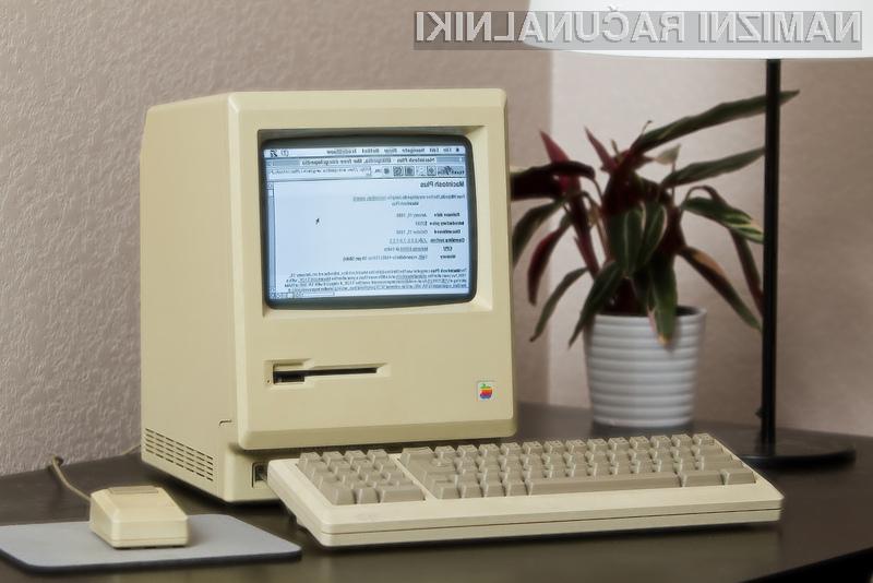 27 star Mac Plus se je spopadel z današnjim internetom.